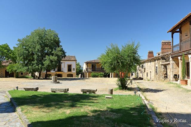 Plaza de Granadilla, Cáceres