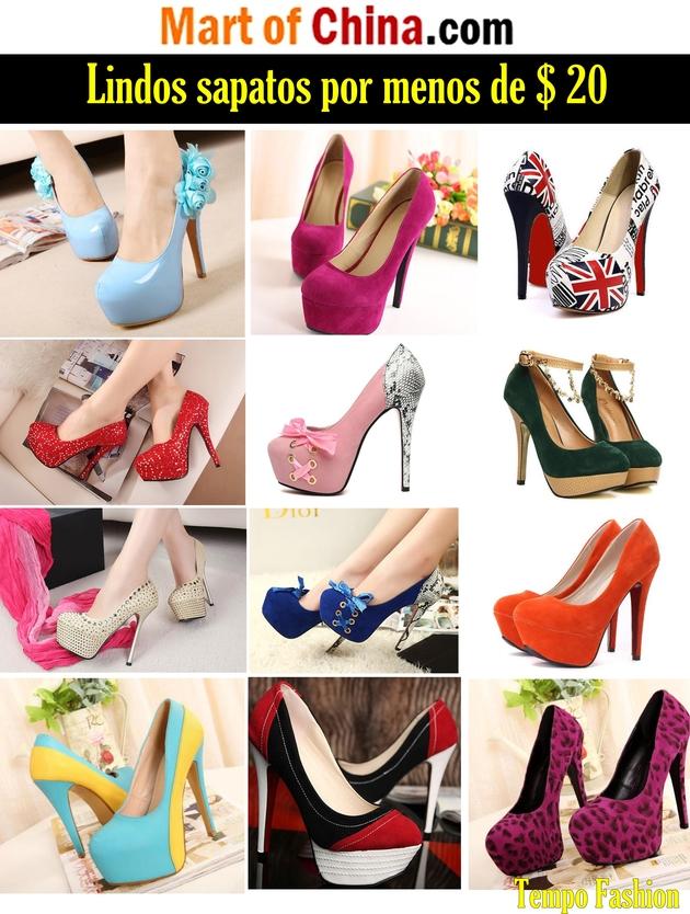 83e3fcfa4 Mart of China – Sapatos por menos de   20 – Tempo Fashion