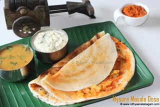 Mysore Masala Dosa