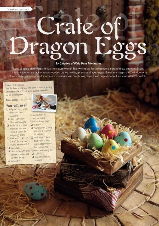 Pixie Dust Miniatures: My Tutorial in DHMS Magazine!