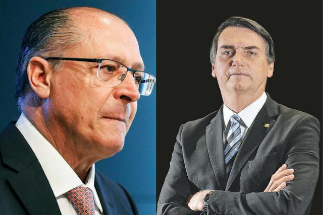 Alckmin e Bolsonaro se atacam em vídeos. Candidato do PSDB quer ganhar eleitores bolsonaristas