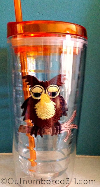 Brown Owl Tumbler