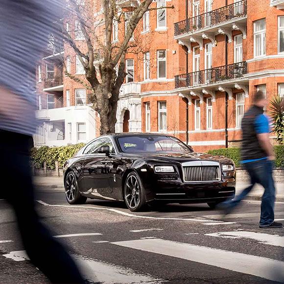 Hommage de Rolls-Royce à Sir George Martin