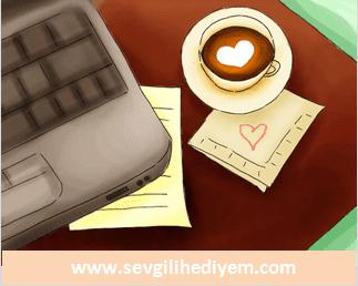 sevgiliye özel yazılmış sürpriz minik sevgi notları