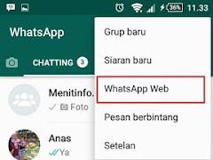 Cara Keluar dari WhatsApp Web supaya Akunmu tidak Dibajak