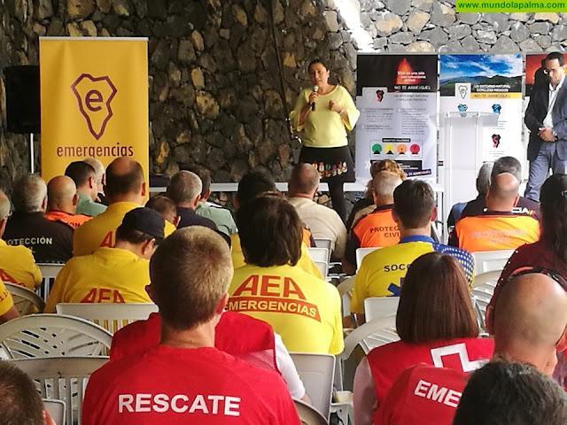 El Cabildo agradece el trabajo y la aportación de profesionales y voluntarios de los cuerpos de emergencias de la isla