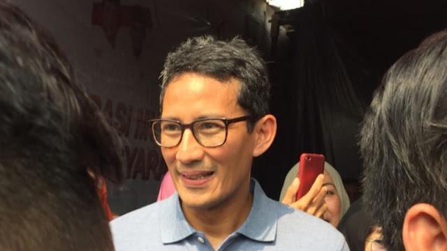 Sandi: Erick Thohir Sulit Jadi Ketua Timses Jokowi, Dia Teman Saya