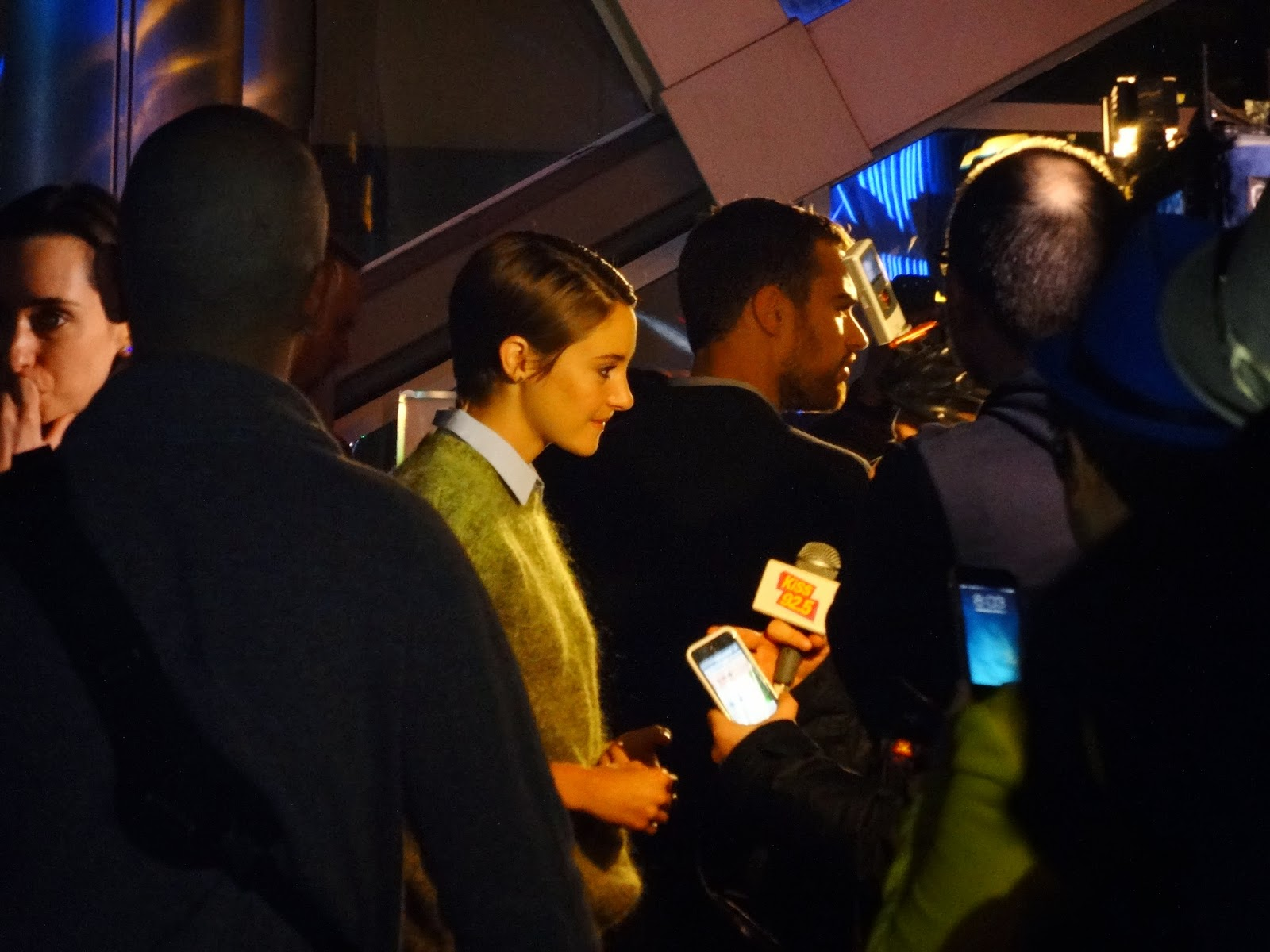 Theo James, Divergent, Divergent Toronto, Divergent Premiere, Shailene Woodley