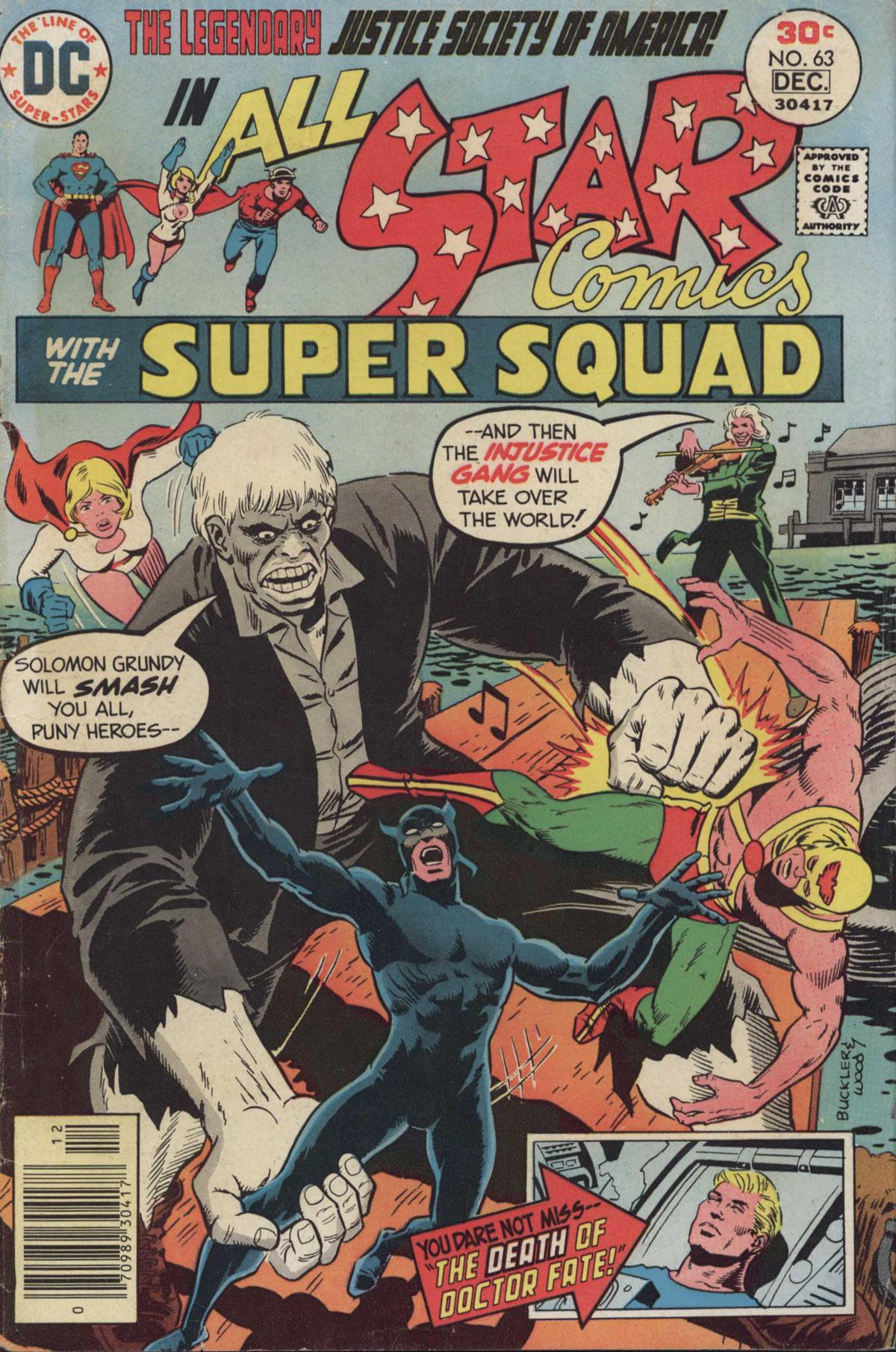 Read online All-Star Comics comic -  Issue #63 - 1