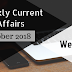 Weekly Current Affairs October 2018:  Week II