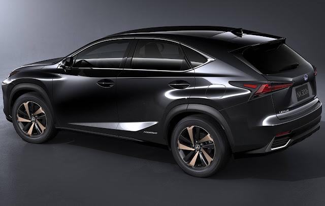 Novo Lexus NX 2018