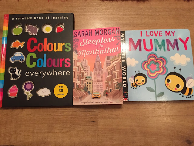 Colours Colours Everywhere, Sleepless in Manhattan, I Love my Mummy