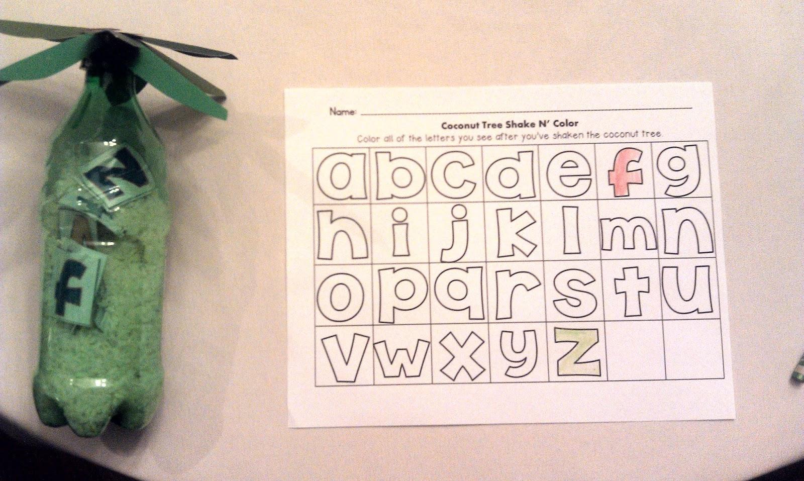 Kindergarten Kel Chicka Chicka Boom Boom Letter