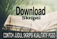 Download 20 Contoh Skripsi Jurusan Teknologi Pendidikan Pdf