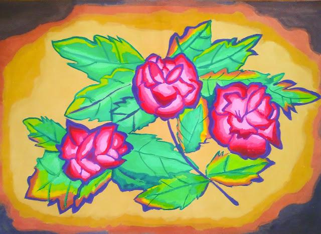 Artwork - Three Flowers Of Blossom