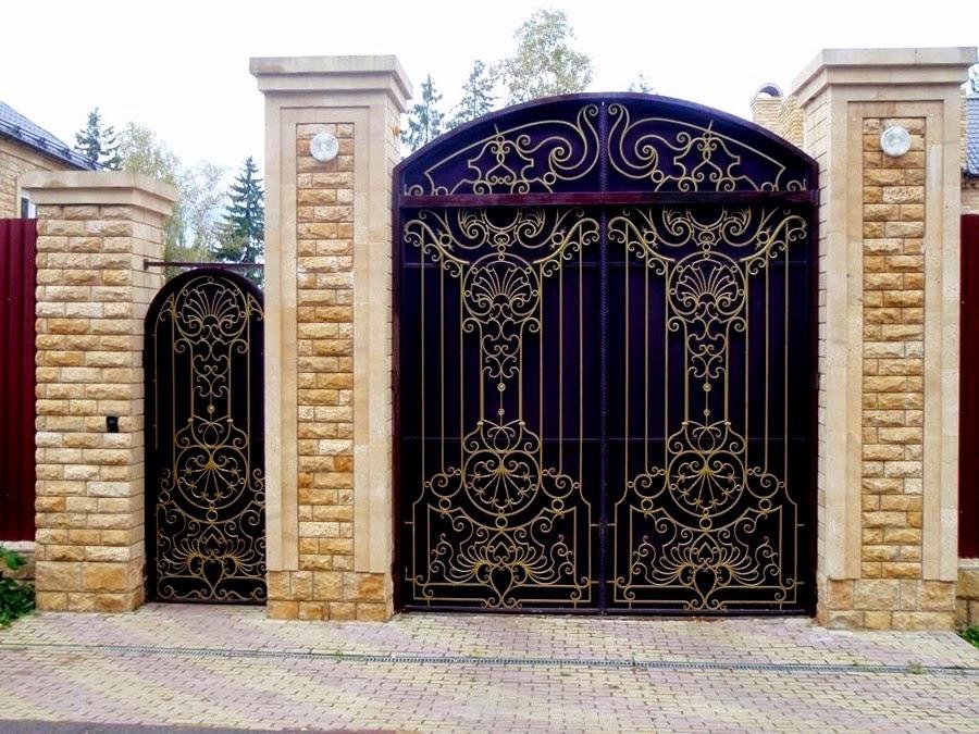 Ворота распашные инструкция