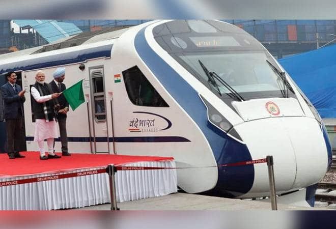 Vande Bharat Express Completes 1 Lakh Km Without Missing Single Trip