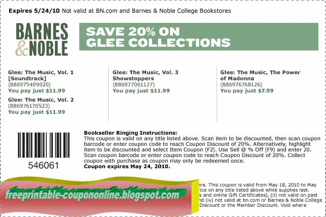 Barnes and noble coupon 2018 february