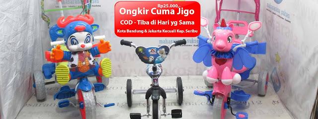 ongkir cuma jigo tricycle