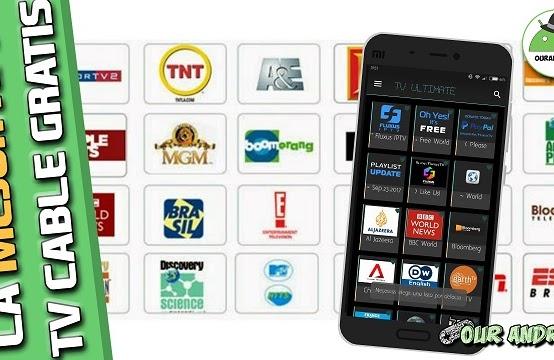 La Mejor Aplicación para ver Televisión por cable Gratis en vivo