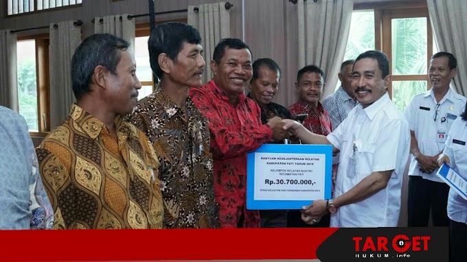 Bupati Haryanto ; Bantuan 774 Juta Penyandang Disabilitas Agar Mereka Memiliki Modal Untuk Mengembangkan Usahanya