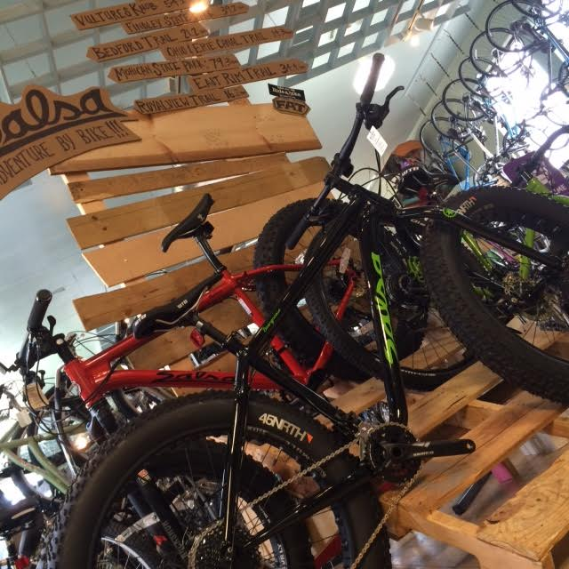 7864f8d26a0 The Adventure Wall at Century Cycles in Rocky River