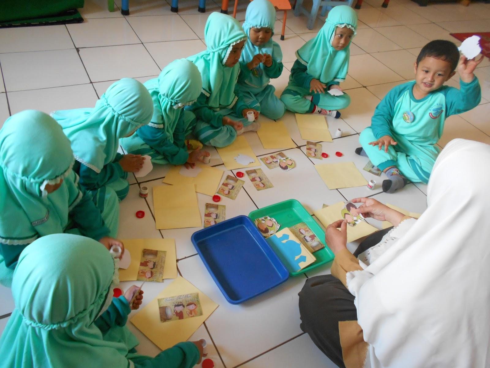 Contoh Kartu Lebaran Untuk Anak Tk - Gallery Islami Terbaru