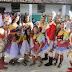 Desfile das escolas no Distrito de Xucuru, nesta sexta-feira (15/09)