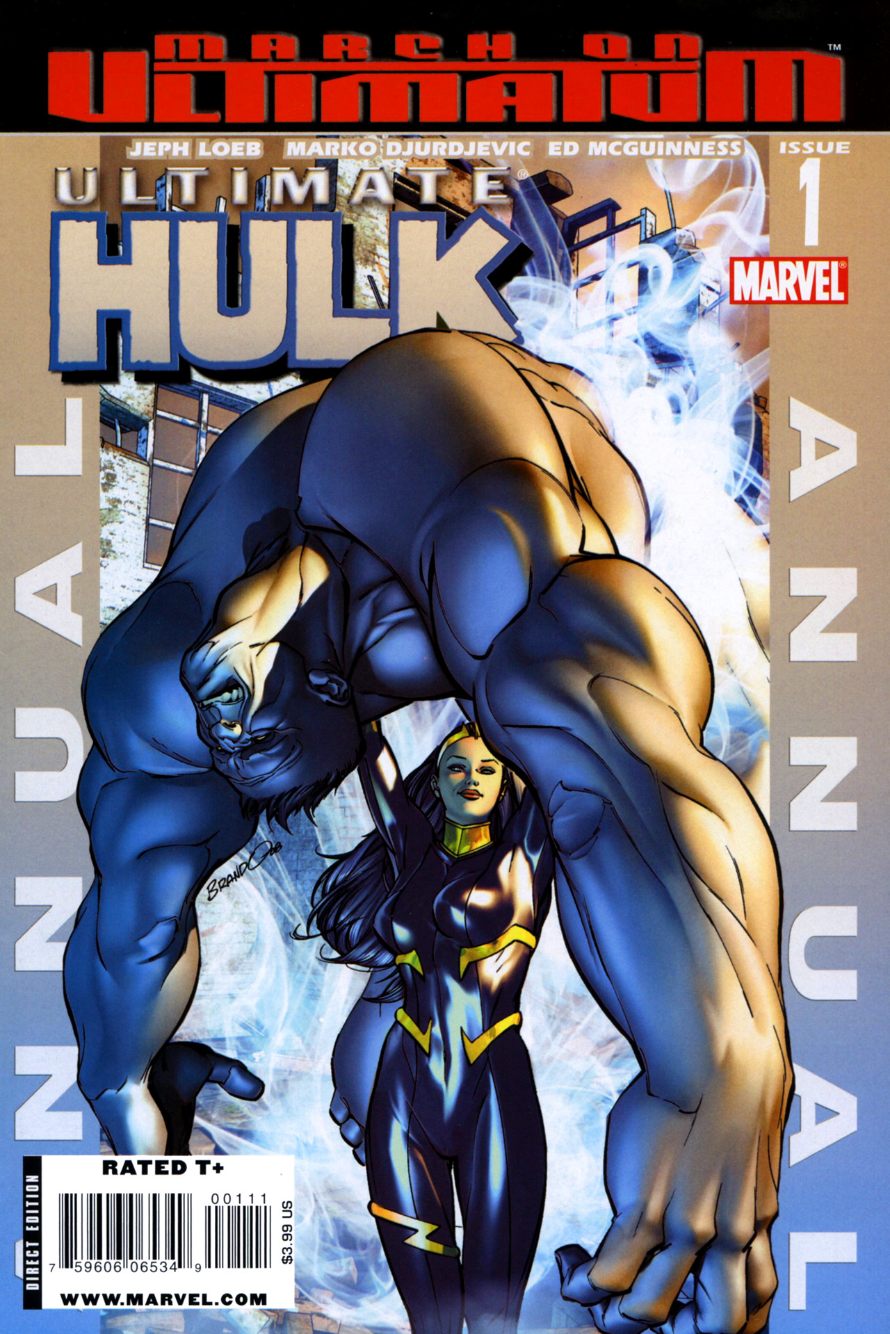 Read online Ultimate Hulk Annual comic -  Issue # Full - 1