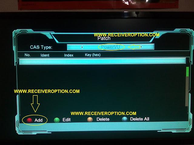 STAR TRUK 2017 HD RECEIVER POWERVU KEY OPTION