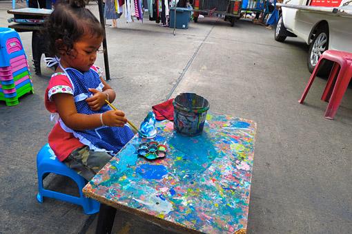 young Thai artist