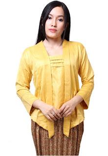 Model Kebaya Terbaru Warna Kuning