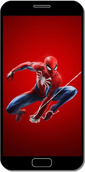Spider Man Playstation 4 Rouge - Fond d'Écran en QHD pour Mobile