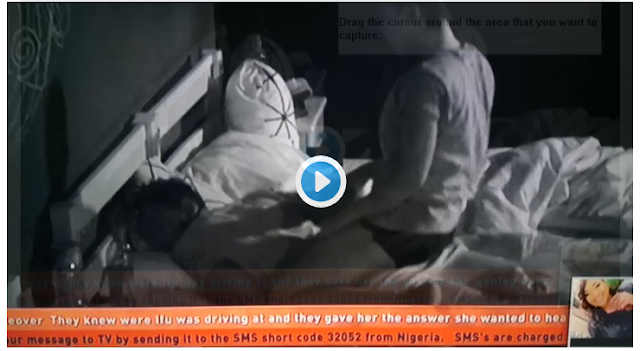 BBNaija: Shame slam on Nina face as Miracle refuses to have sex with her [VIDEO]