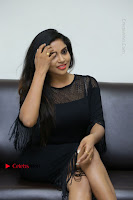 Telugu Actress Karunya Chowdary Latest Stills in Black Short Dress at Edo Prema Lokam Audio Launch .COM 0306.JPG