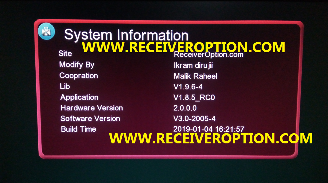 GX 6605S 5815 V4 1 POWERVU KEY NEW SOFTWARE WITH RED MENU - HOW TO