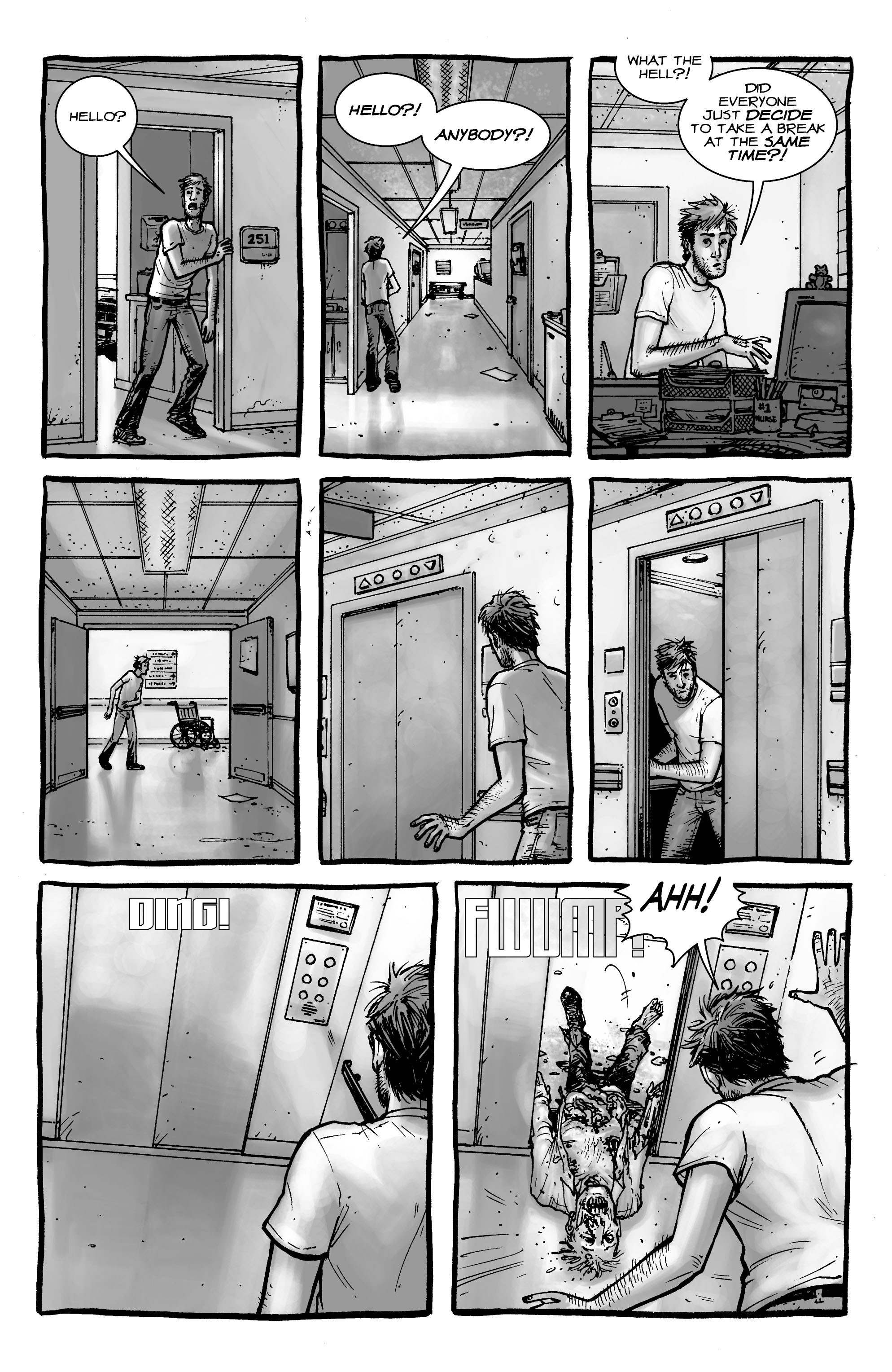 The Walking Dead issue 1 - Page 6