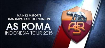 Dapatkan Tiket Nonton As Roma Indonesia Tour 2015