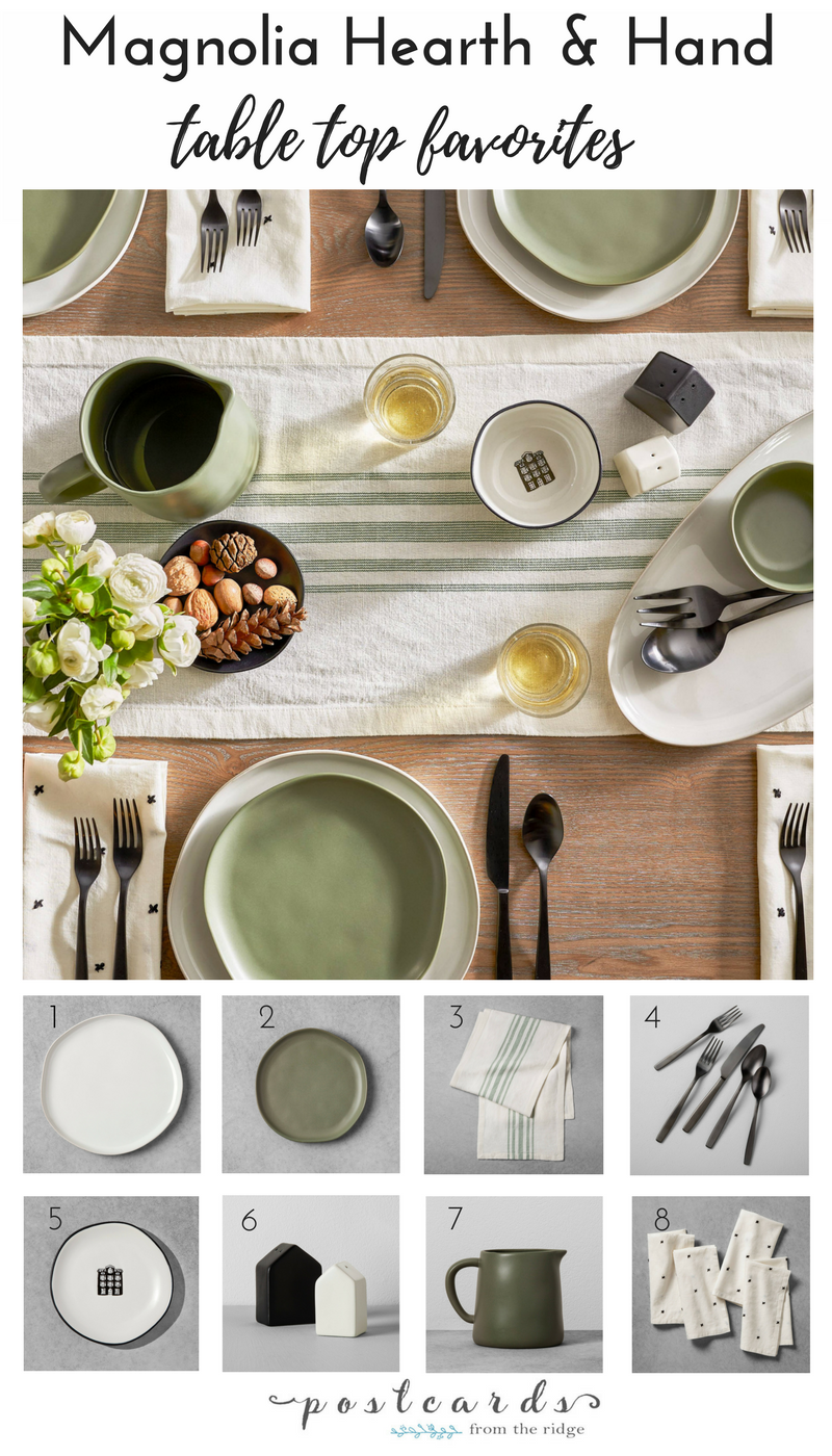So many beautiful kitchen and dining items from Joanna Gaines at Target.