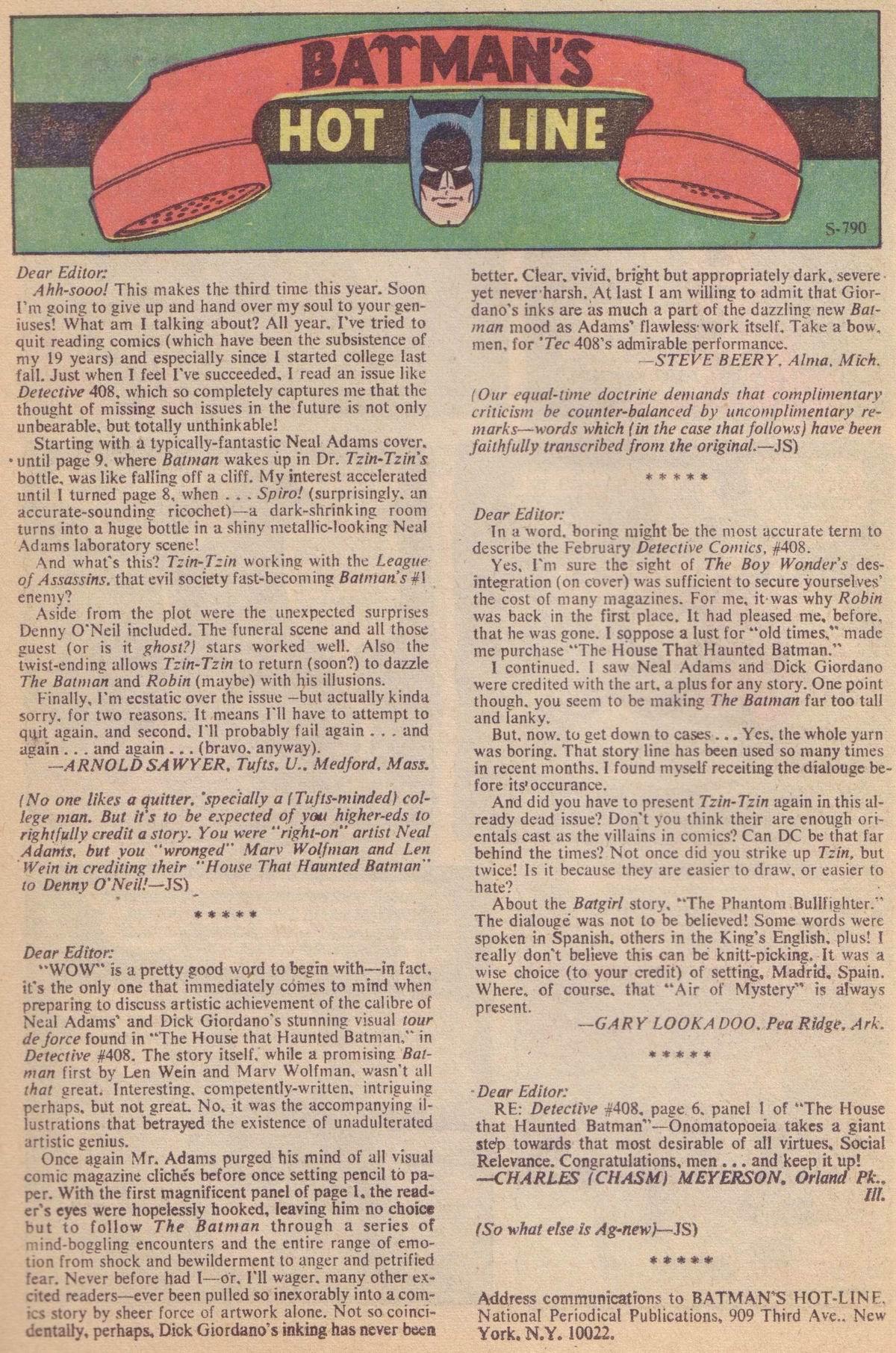 Detective Comics (1937) 412 Page 21