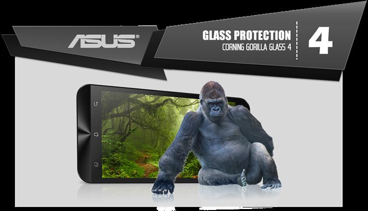 4. Layar Di Proteksi dengan Corning Gorilla Glass 4