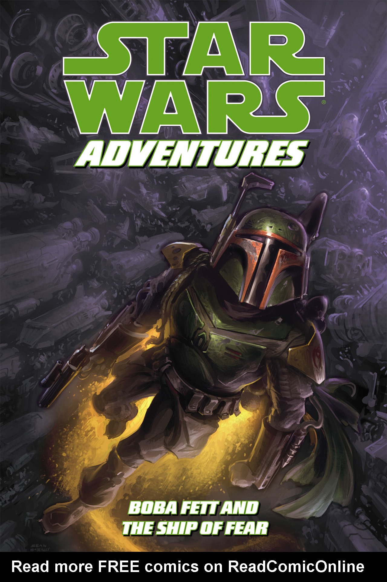 Read online Star Wars Adventures comic -  Issue # Issue Boba Fett and the Ship of Fear - 1