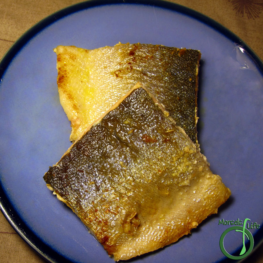 Morsels of Life - Garlic Salmon - A healthy baked salmon with a bit of garlic to complement and enhance the flavor profile.