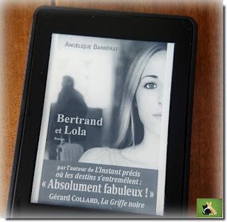 Vie quotidienne de FLaure : Lecture : Bertrand et Lola par Angélique Barbérat
