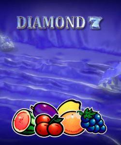 Diamond 7 slot game logo