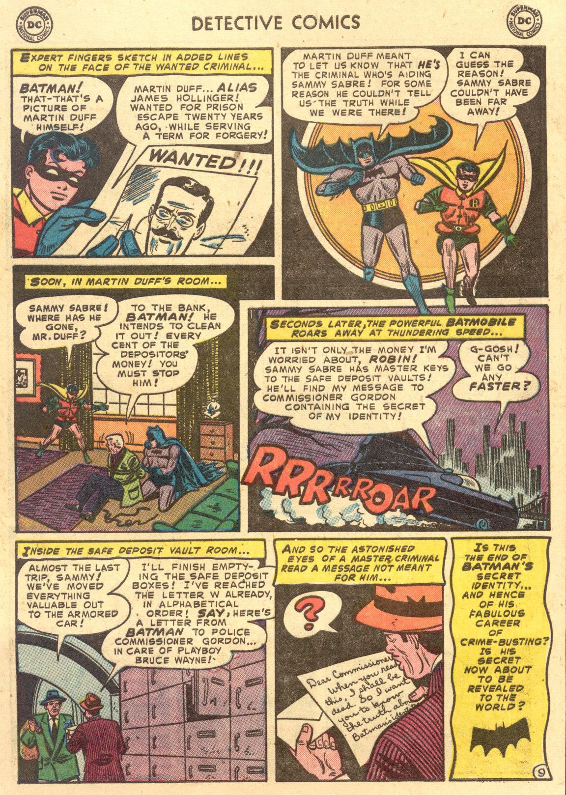 Read online Detective Comics (1937) comic -  Issue #194 - 11