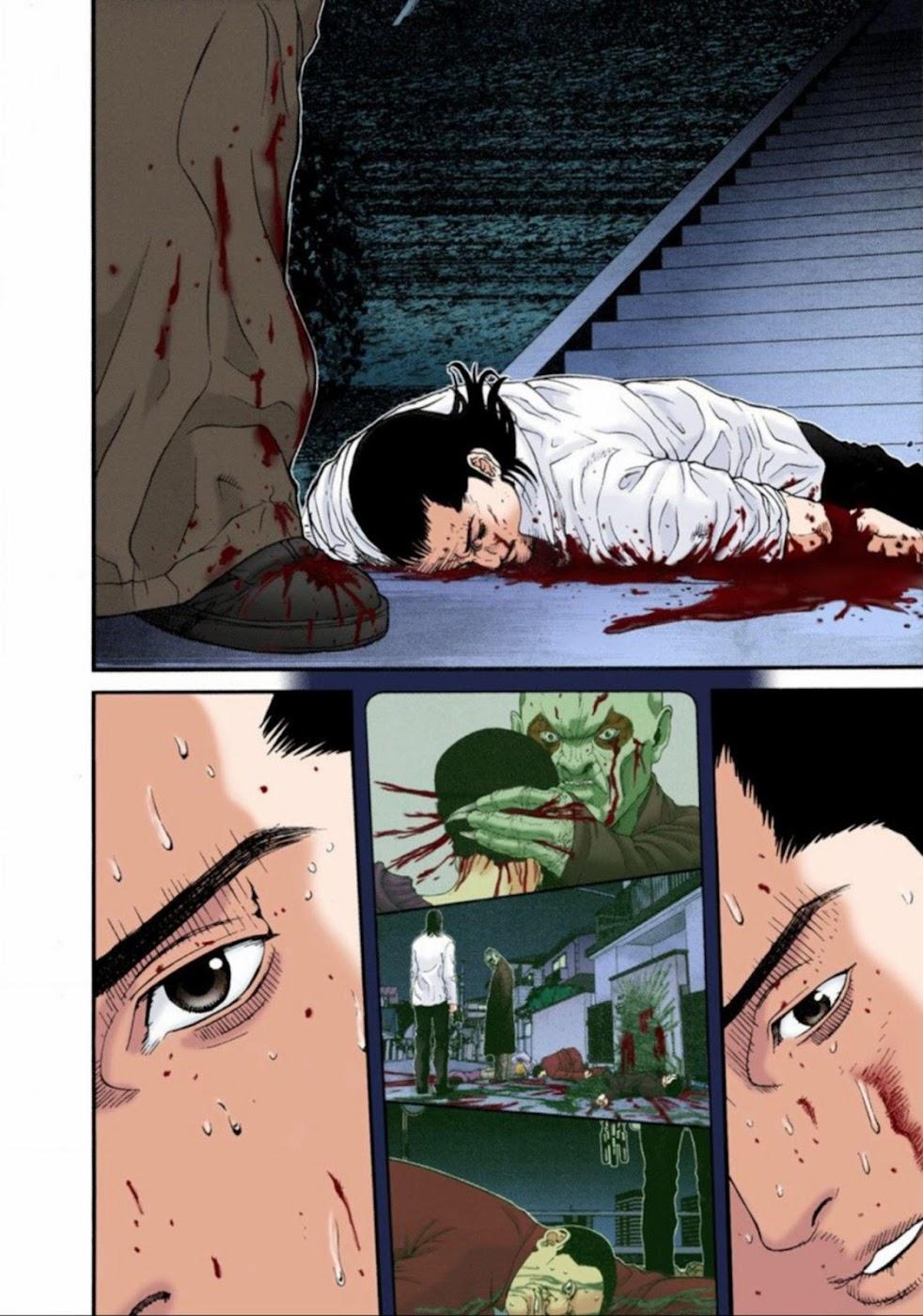Gantz Chap 16: Biến đổi trang 13