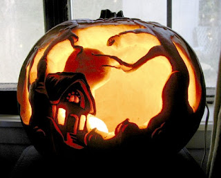 pumpkin-carving-Halloween