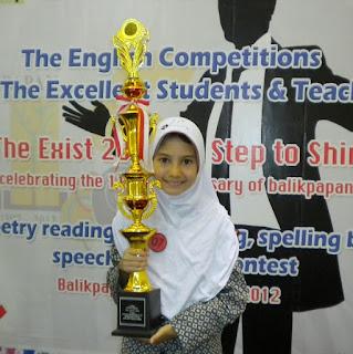 Juara Pertama Poetry Reading 2012