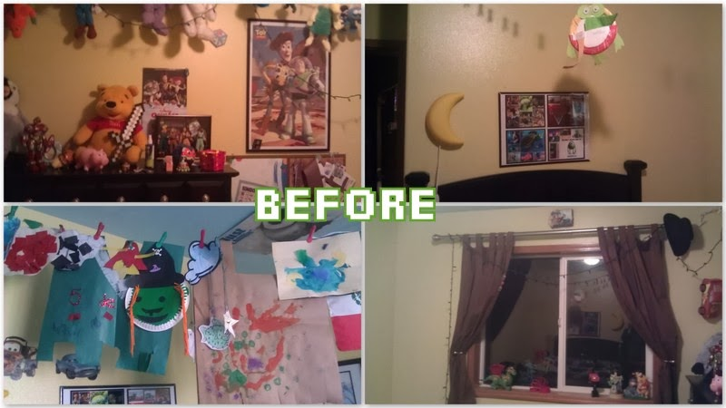 Minecraft Bedroom Decor